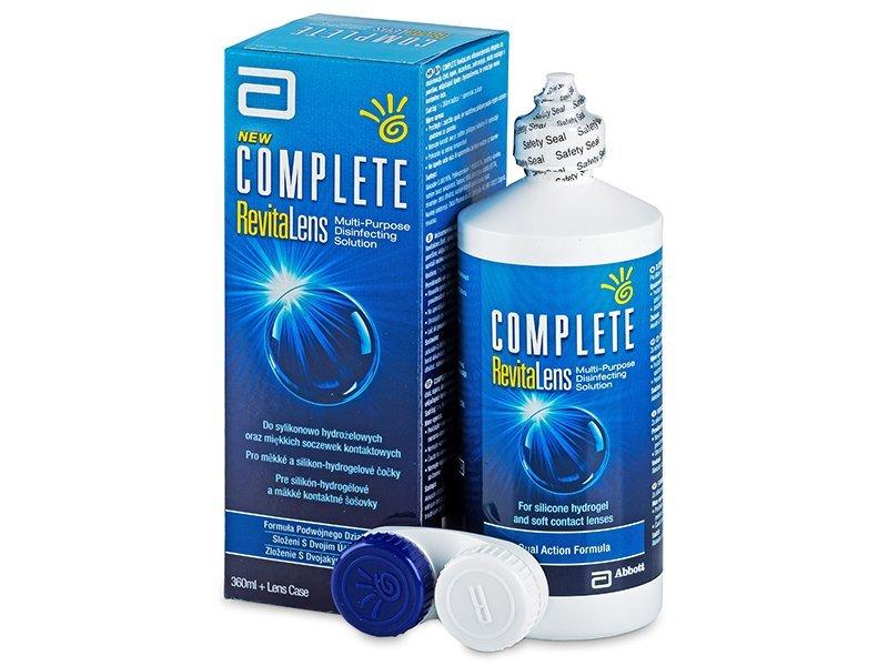 Líquido Complete RevitaLens 360ml  - líquido de limpieza - Advanced Medical Optics