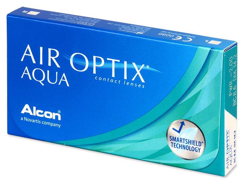 Air Optix Aqua (3Lentillas) - Lentillas mensuales
