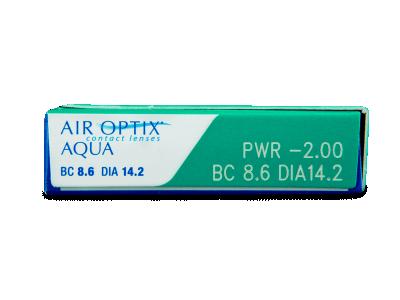 Air Optix Aqua (3Lentillas) - Previsualización de atributos