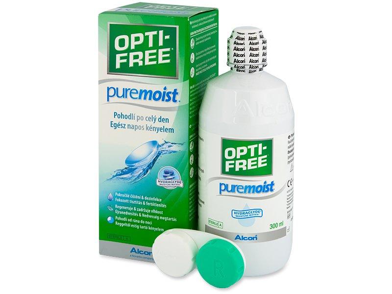 Líquido OPTI-FREE PureMoist 300ml  - Alcon