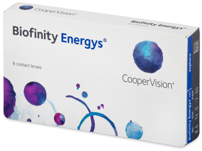 Biofinity Energys (6 lentillas) - Contact lenses
