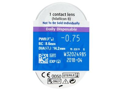 SofLens Daily Disposable (90Lentillas) - Previsualización del blister