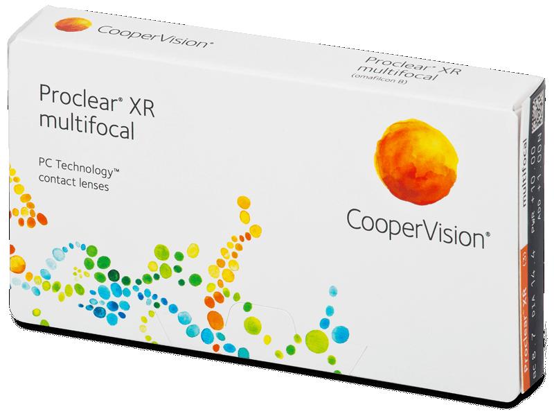 Proclear Multifocal XR (3 lentillas) - Lentillas multifocales