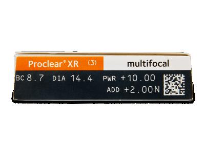 Proclear Multifocal XR (3 lentillas) - Previsualización de atributos
