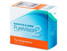Lentillas Bausch and Lomb - PureVision 2 for Astigmatism (6 Lentillas)
