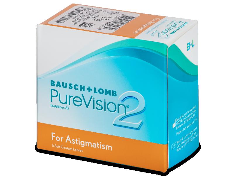 PureVision 2 for Astigmatism (6Lentillas) - Lentillas tóricas