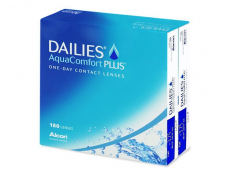 Lentillas diarias - Dailies AquaComfort Plus (180 Lentillas)