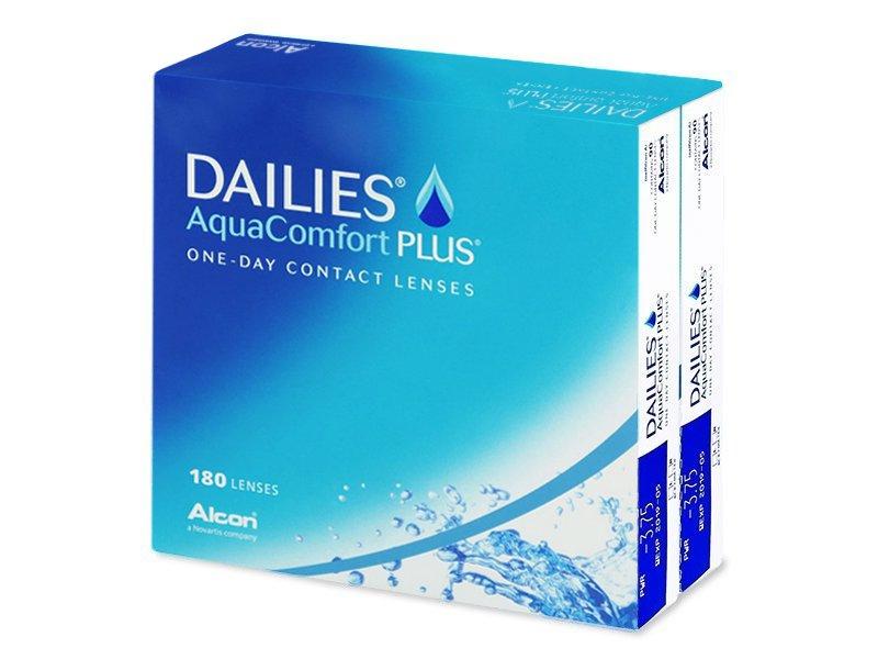 Dailies AquaComfort Plus (180Lentillas) - Lentillas diarias desechables - Alcon