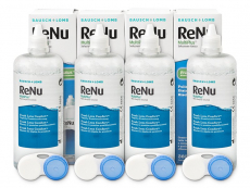 Líquidos para lentillas - Líquido ReNu MultiPlus 4 x 360ml