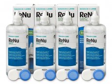Lentillas Bausch and Lomb - Líquido ReNu MultiPlus 4 x 360 ml