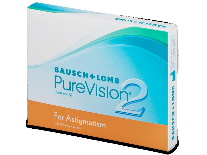 PureVision 2 for Astigmatism (3Lentillas) - Lentillas tóricas