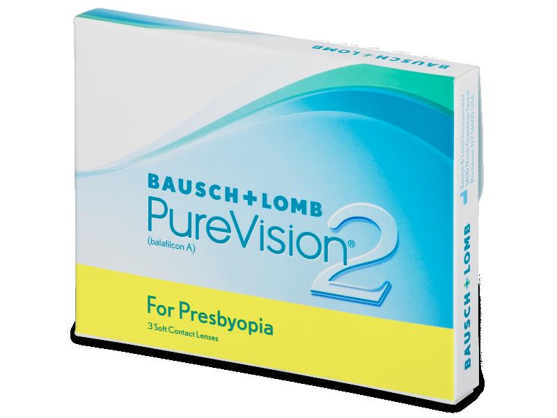 PureVision 2 for Presbyopia (3Lentillas) - Lentillas multifocales
