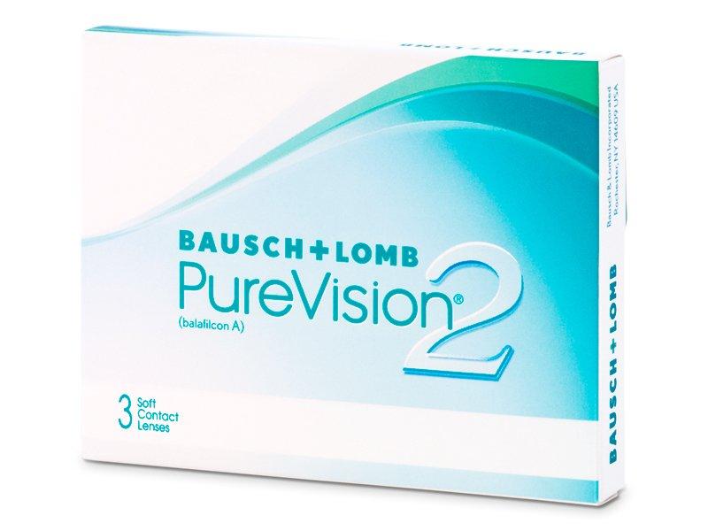 PureVision 2 (3 Lentillas) - Lentillas mensuales - Bausch and Lomb