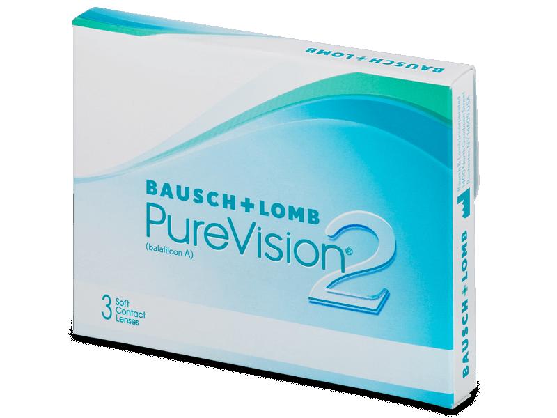 PureVision 2 (3 Lentillas) - Lentillas mensuales