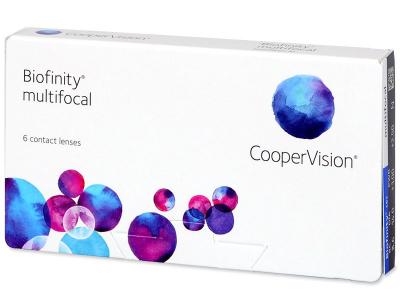 Biofinity Multifocal (6lentillas) - Lentillas multifocales
