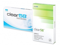 Lentillas ClearLab - Clear 58 (6 Lentillas)