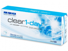 Lentillas diarias - Clear 1-Day (30 Lentillas)