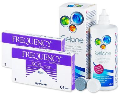 Frequency Xcel Toric (2x3 Lentillas) +Gelone360ml