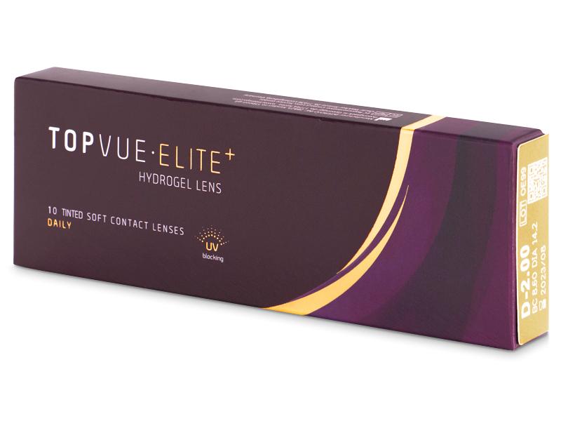 TopVue Elite+ (10 lentillas) - Lentillas diarias desechables - TopVue