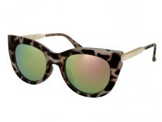 Gafas - Gafas de sol Alensa Cat Eye Havana Pink Mirror
