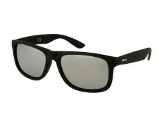 Gafas de sol Hombre - Gafas de sol Alensa Sport Black Silver Mirror