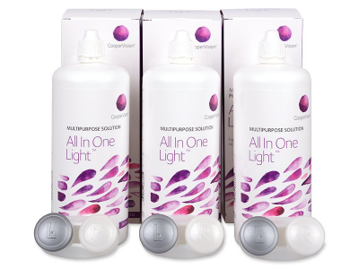Líquido All In One Light 3 x 360 ml