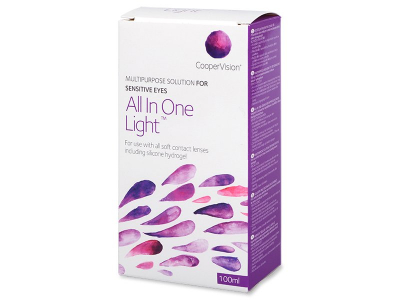 Líquido All In One Light 100 ml  - líquido de limpieza