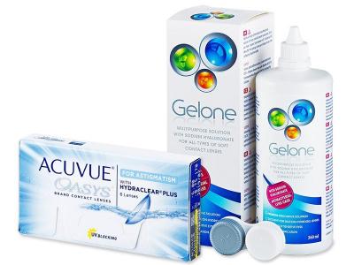 Acuvue Oasys for Astigmatism (6lentillas) +LíquidoGelone360 ml