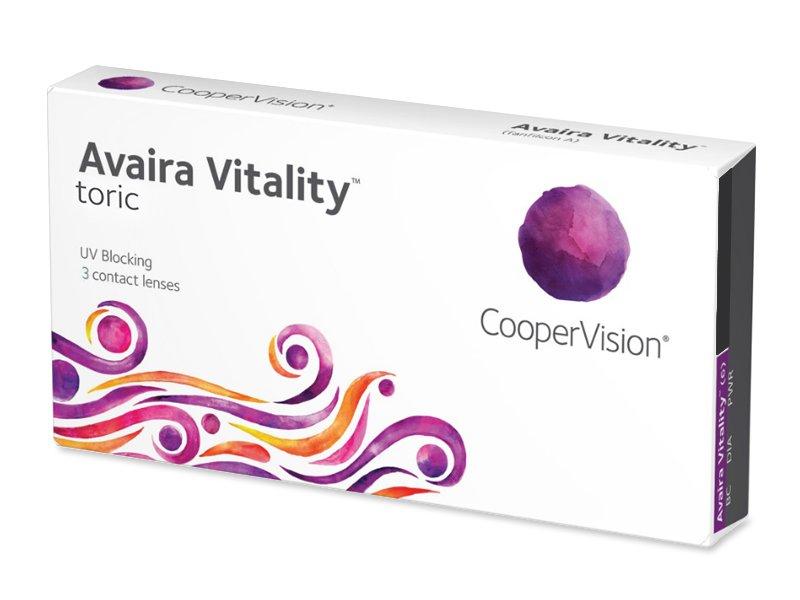 Avaira Vitality Toric (3 lentillas) - Lentillas tóricas