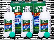 Líquido OPTI-FREE Express 3x355ml  - Pack ahorro - solución triple