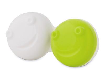 Estuche para limpiador de lentillas vibratorio - verde