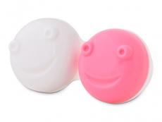 Estuches - Estuche para limpiador de lentillas vibratorio - rosa