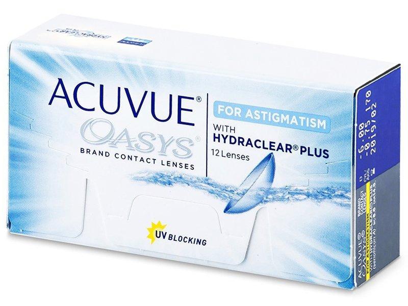 Acuvue Oasys for Astigmatism (12 Lentillas)