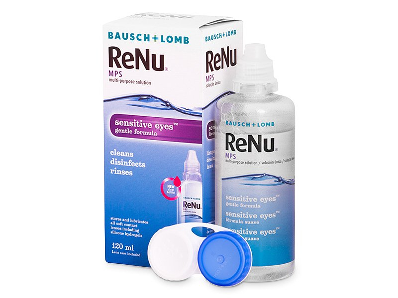 833bf45427 Líquido ReNu MPS Sensitive Eyes 120 ml de Bausch and Lomb | Lentes-Shop