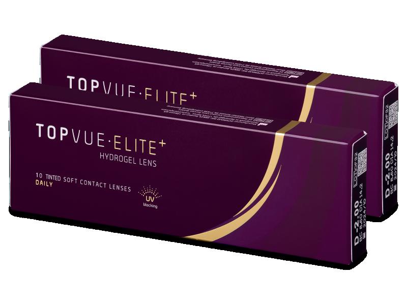 TopVue Elite+ (10 pares) - Lentillas diarias desechables