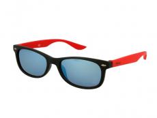 Gafas de sol Wayfarer - Kids sunglasses Alensa Sport Black Red Mirror