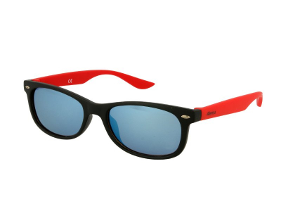 Gafas de sol Gafas de sol para niños Alensa Sport Black Red Mirror