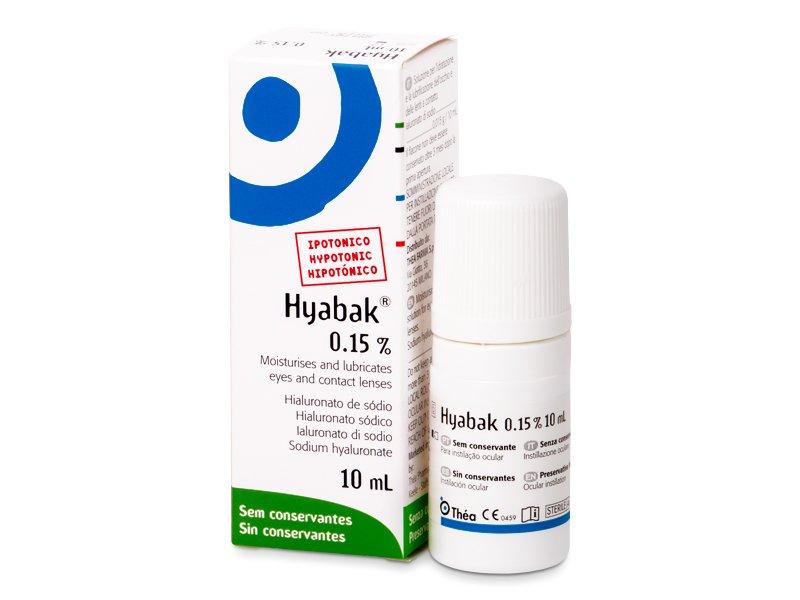 Gotas oculares Hyabak 10 ml  - Gotas oculares