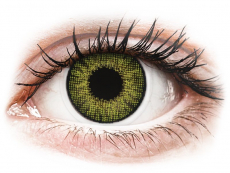Lentillas de color verde - con graduación - Air Optix Colors - Gemstone Green - Graduadas (2 lentillas)