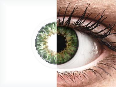 Air Optix Colors - Green - Sin graduación (2 lentillas)
