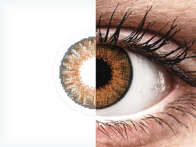 Air Optix Colors - Honey - Sin graduación (2 lentillas)