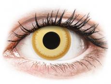 Lentillas de color amarillo - sin graduación - ColourVUE Crazy Lens - Avatar - Sin graduación (2 lentillas)