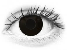 ColourVUE Crazy Lens - BlackOut - Sin graduación (2 lentillas)