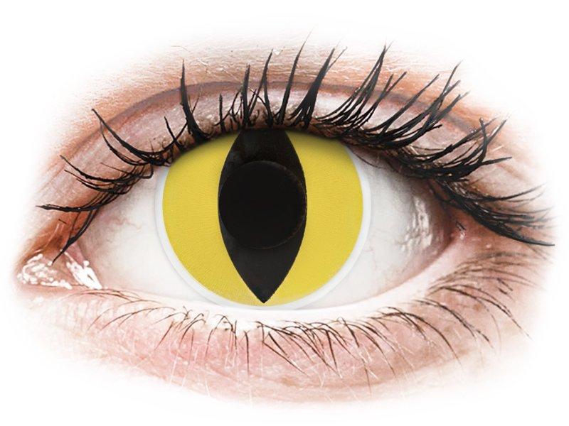 ColourVUE Crazy Lens - Cat Eye - Sin graduación (2 lentillas)