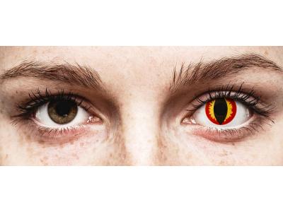 ColourVUE Crazy Lens - Dragon Eyes - Sin graduación (2 lentillas)
