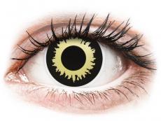 Lentillas de colores especiales - sin graduación - ColourVUE Crazy Lens - Eclipse - Sin graduación (2 lentillas)