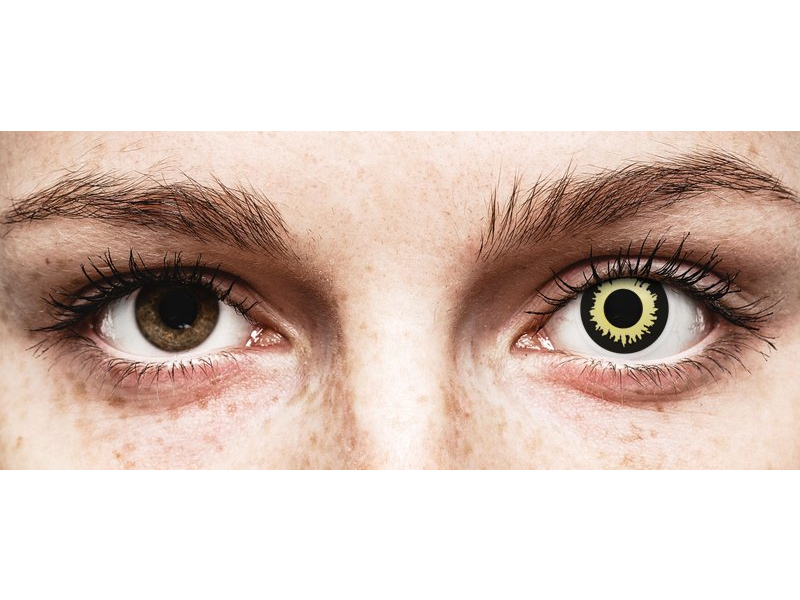ColourVUE Crazy Lens - Eclipse - Sin graduación (2 lentillas)