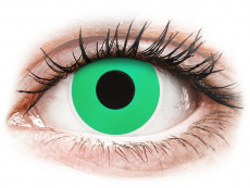 Lentillas de colores Maxvue Vision - ColourVUE Crazy Lens - Emerald (Green) - Sin graduación (2 lentillas)