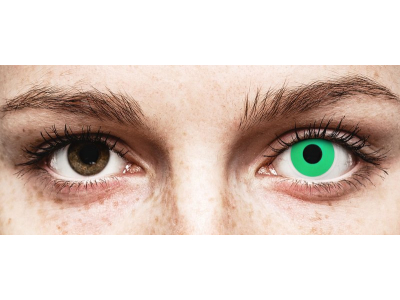 ColourVUE Crazy Lens - Emerald (Green) - Sin graduación (2 lentillas)