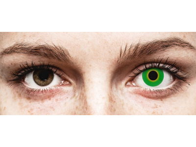 ColourVUE Crazy Lens - Hulk Green - Sin graduación (2 lentillas)